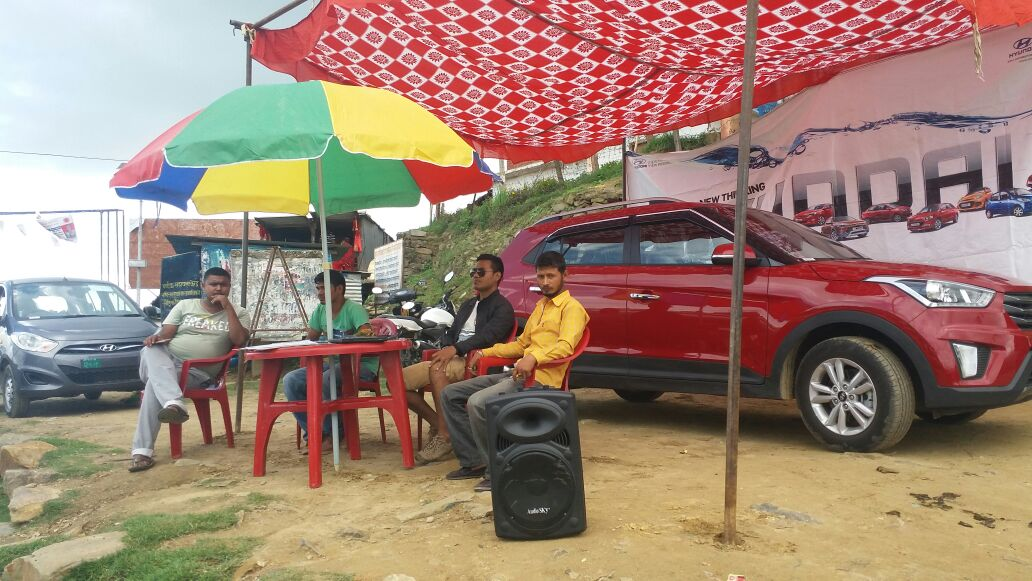 Hyundai – Road Show Event at Dadeldhura & Mahendranagar on 30th June