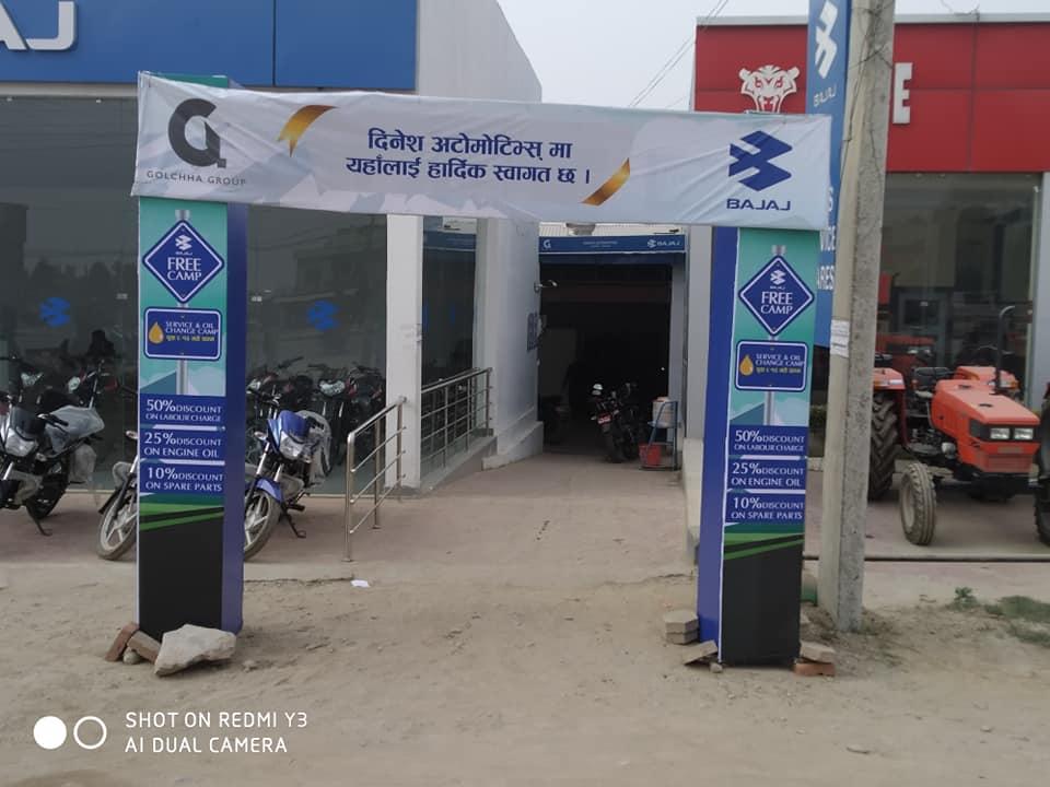 Dinesh Automotives Free Service Camp