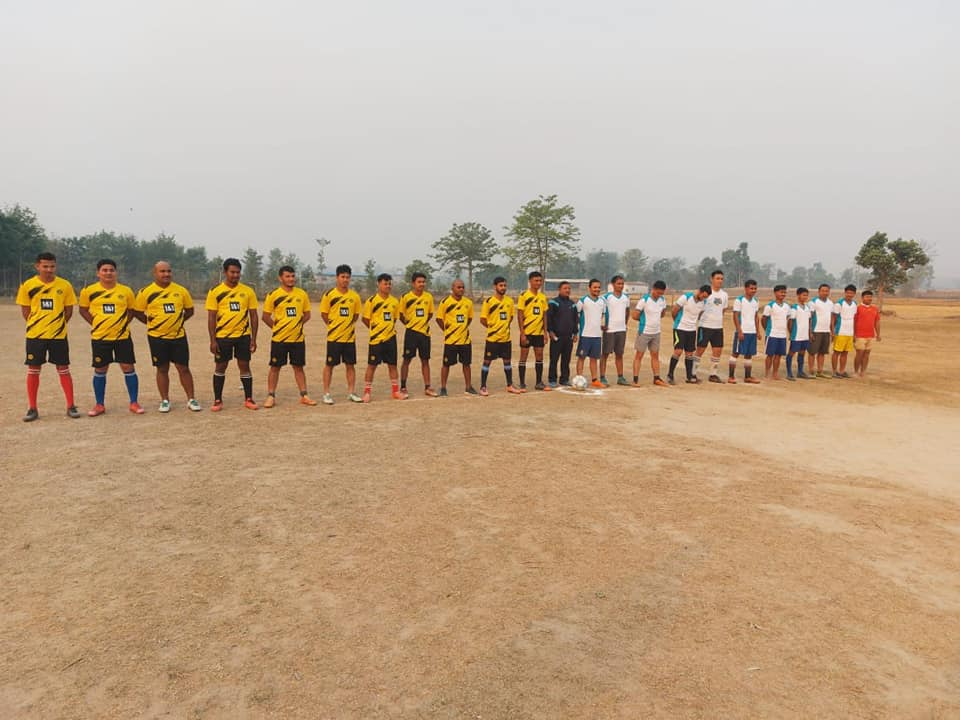 Dinesh Trading House & Dinesh Concern Football Match