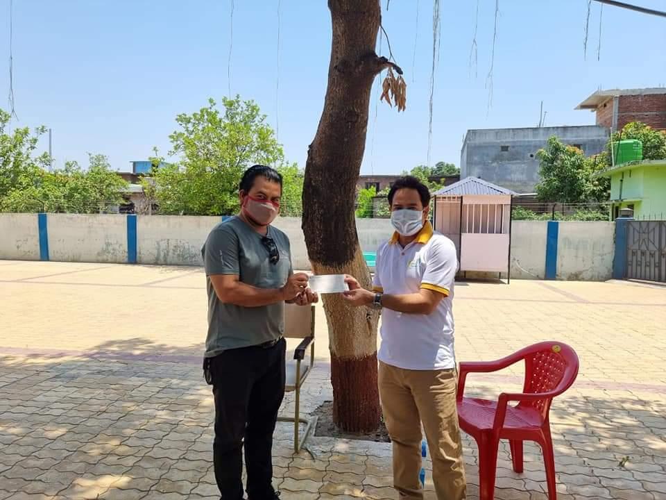 Donation to Rotary Club of Dhangadhi