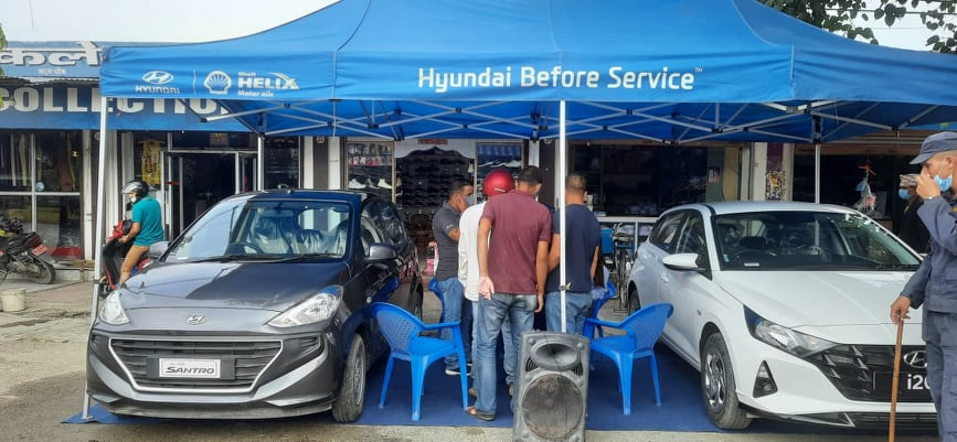 Hyundai Roadshow Program at Mahendranagar on 23 August 2021