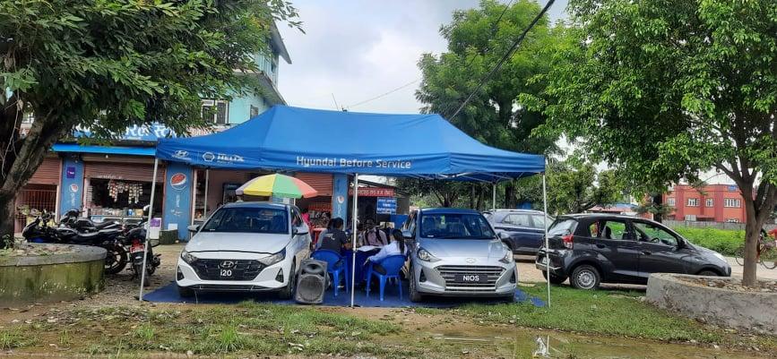 Hyundai- Roadshow Program at Tikapur on 18th August 2021