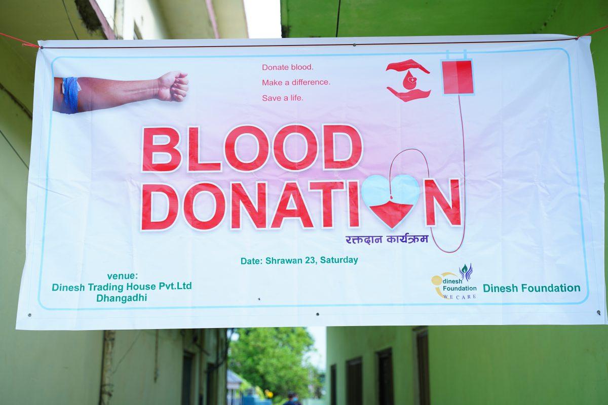 Dinesh Foundation 9th Blood Donation Program