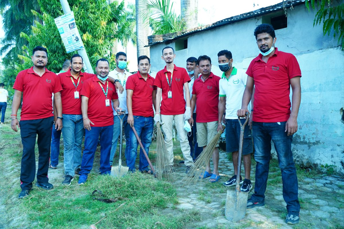 More  Photos of Bandevi Temple Sanitation Programme